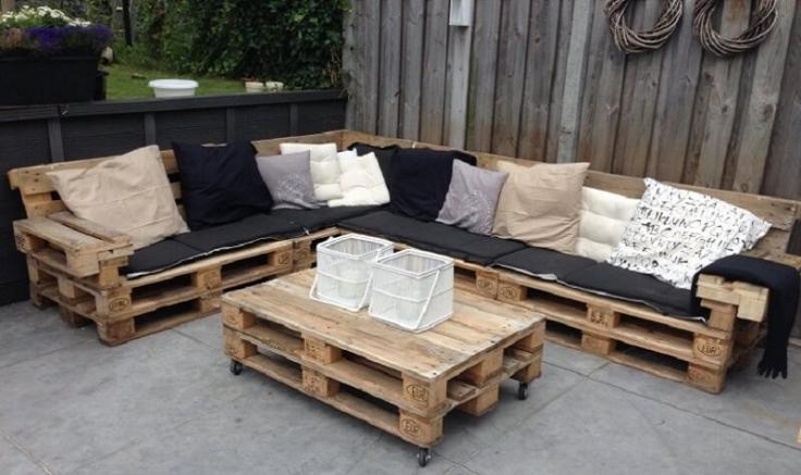 Salon de jardin palette : comment choisir un modèle adapté à son ...